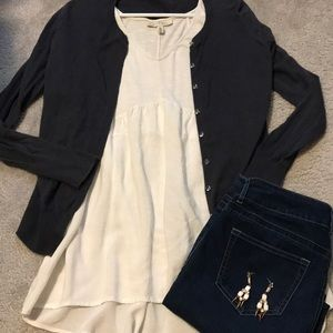 Old Navy Blue Cardigan